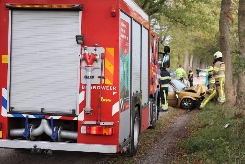 Drie gewonde na een Eenzijdig ongeval in Lippenhuizen