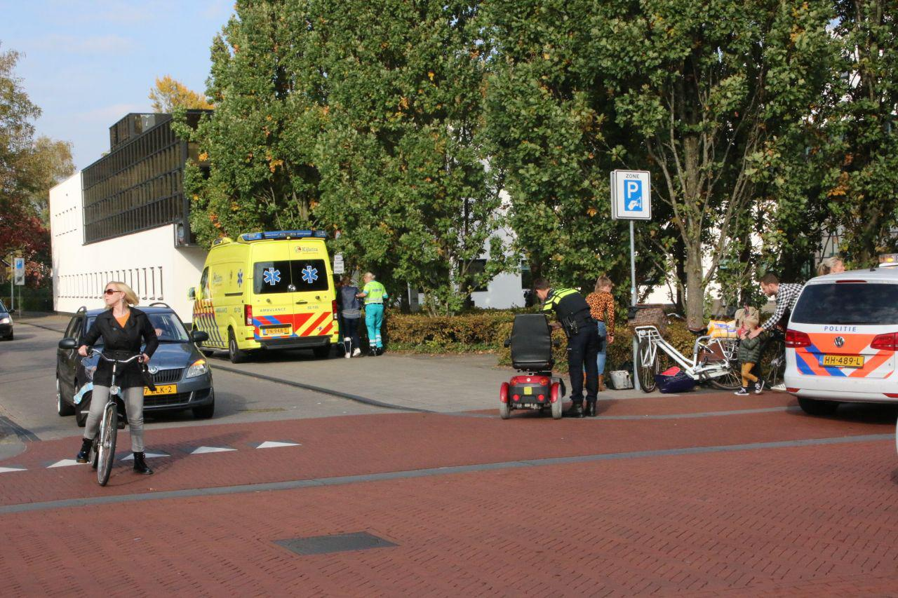 Automobilist rijdt door na aanrijding met Scootmobiel in Drachten