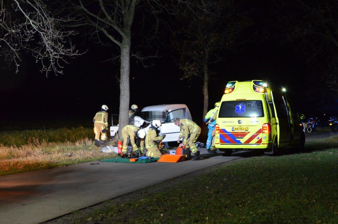 Bestuurder raakt Gewond na verkeersongeval in ANNEN