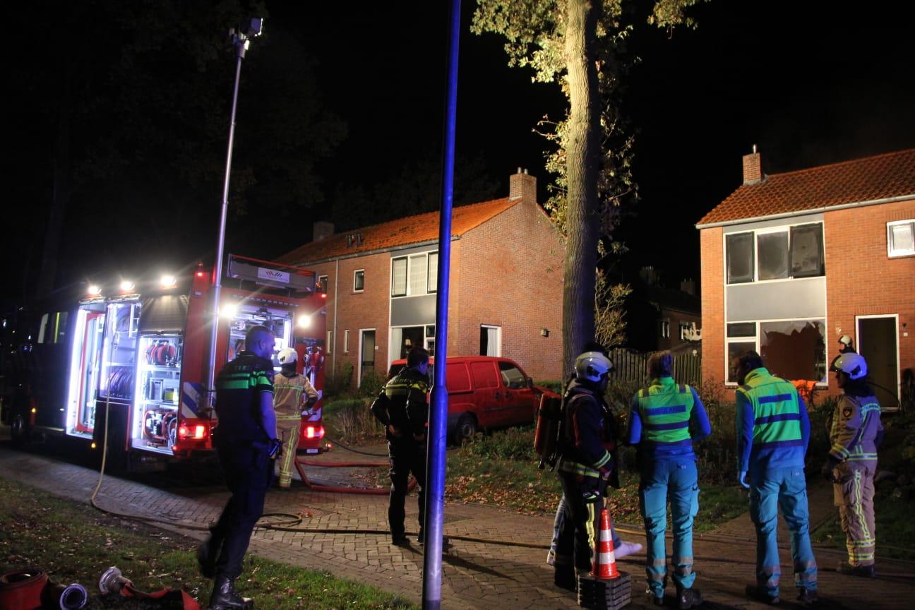persoon komt om het leven bij Woningbrand in Norg