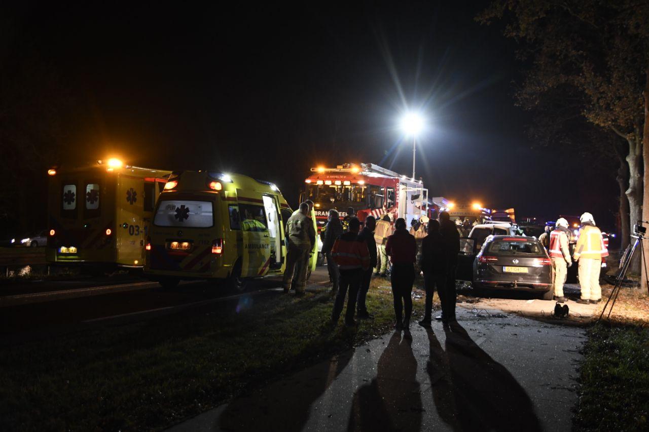 Twee gewonden bij ernstige Ongeval in Havelte