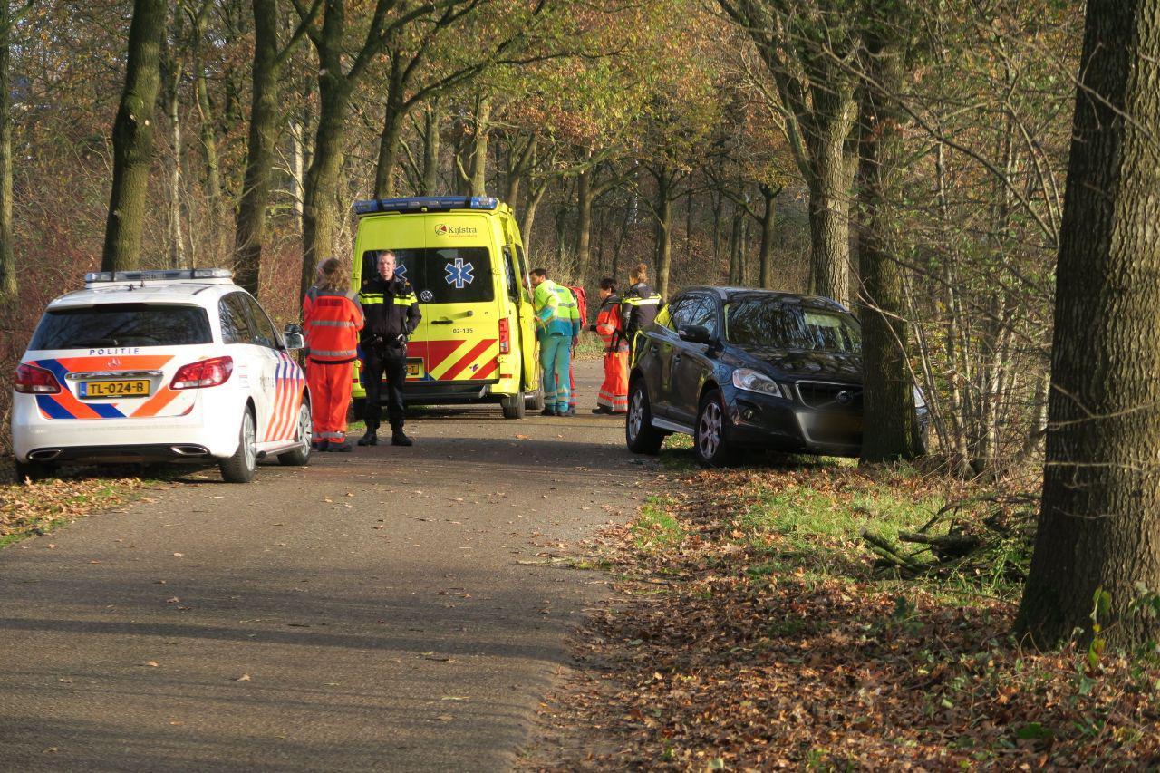 Bestuurster Raakt gewond bij eenzijdig ongeval in Ureterp