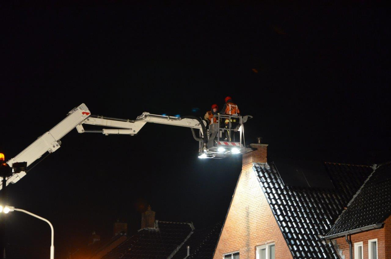 Schoorsteenbrand Veendam snel onder controle
