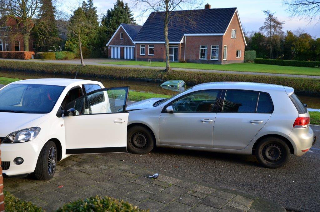 Drie voertuigen betrokken bij ongeval in Wildervank