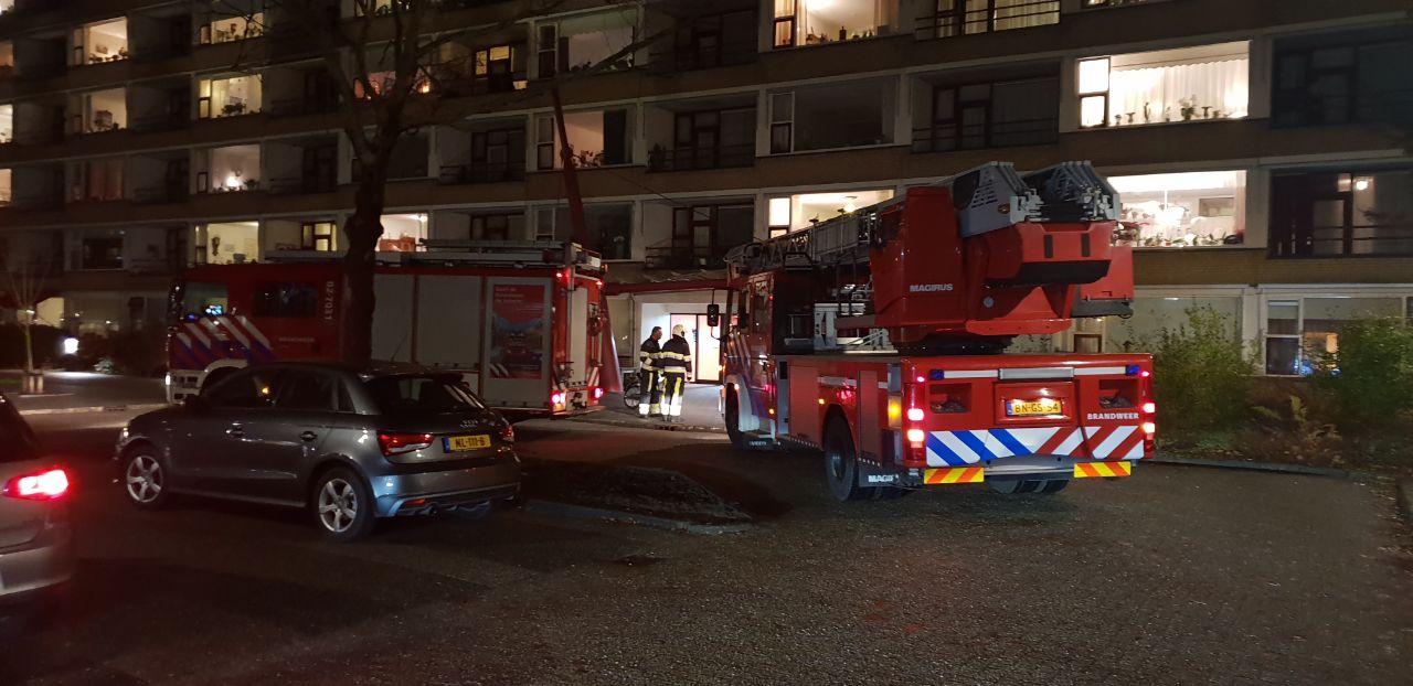 Appartement ontruimd na brand in zorgcentrum de Warrenhove in Drachten