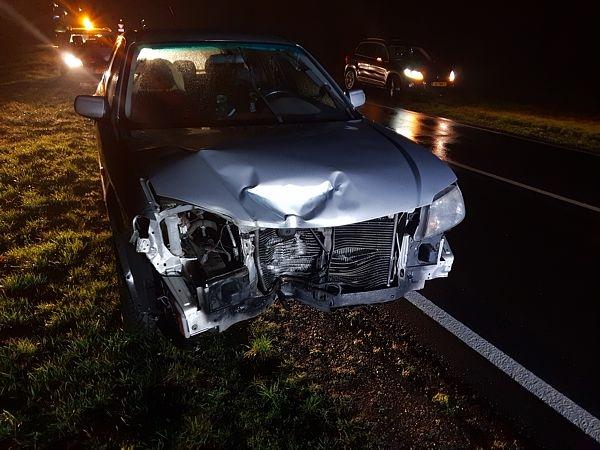 Automobilist vlucht na ongeval en strandt bij Drachstercompagnie