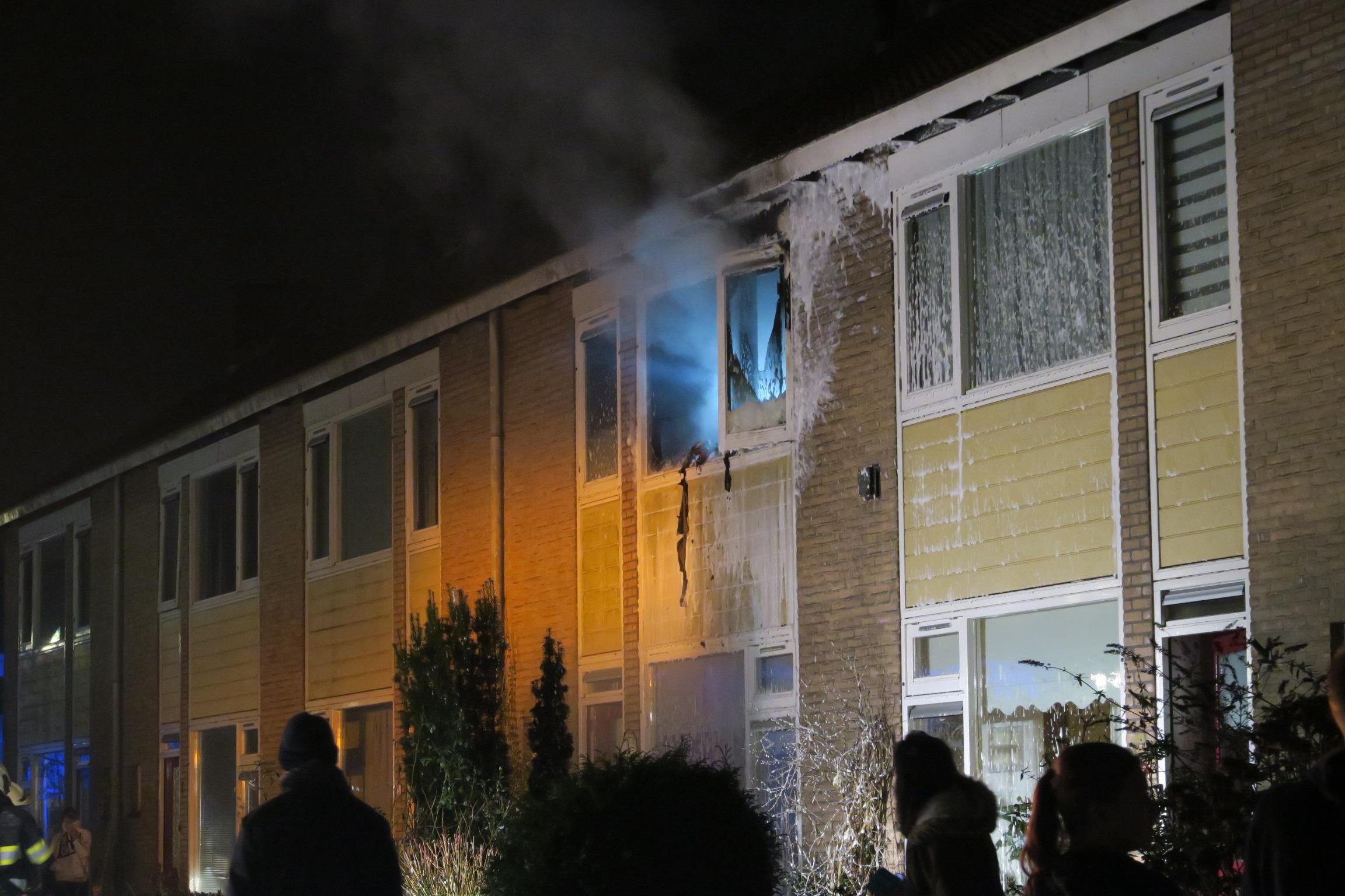 Uitslaande brand verwoest slaapkamer in Drachten