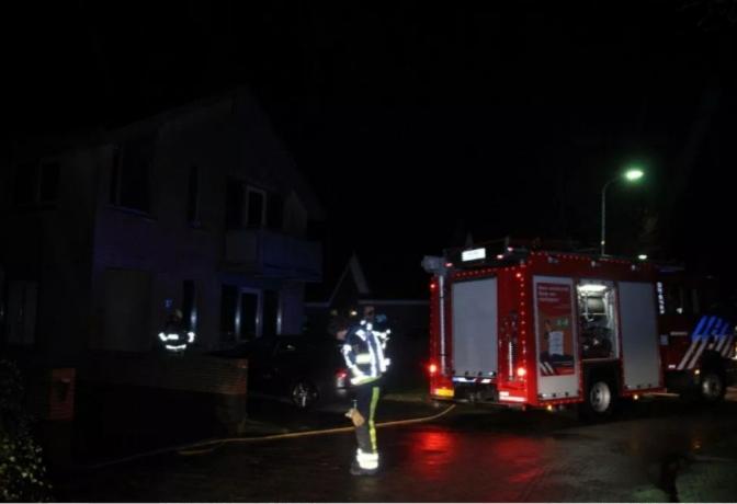 Een persoon raakt gewond Bij woningbrand in Wolvega