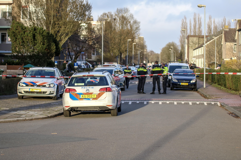 Politie lost waarschuwingsschot af in Groningen