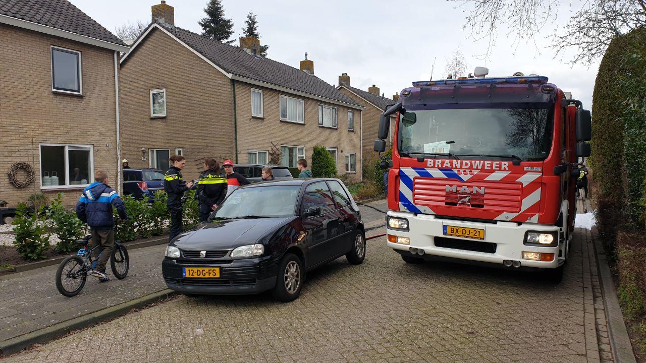 Kleine keukenbrand in woning aan de Bouriciuslaan in Drachten