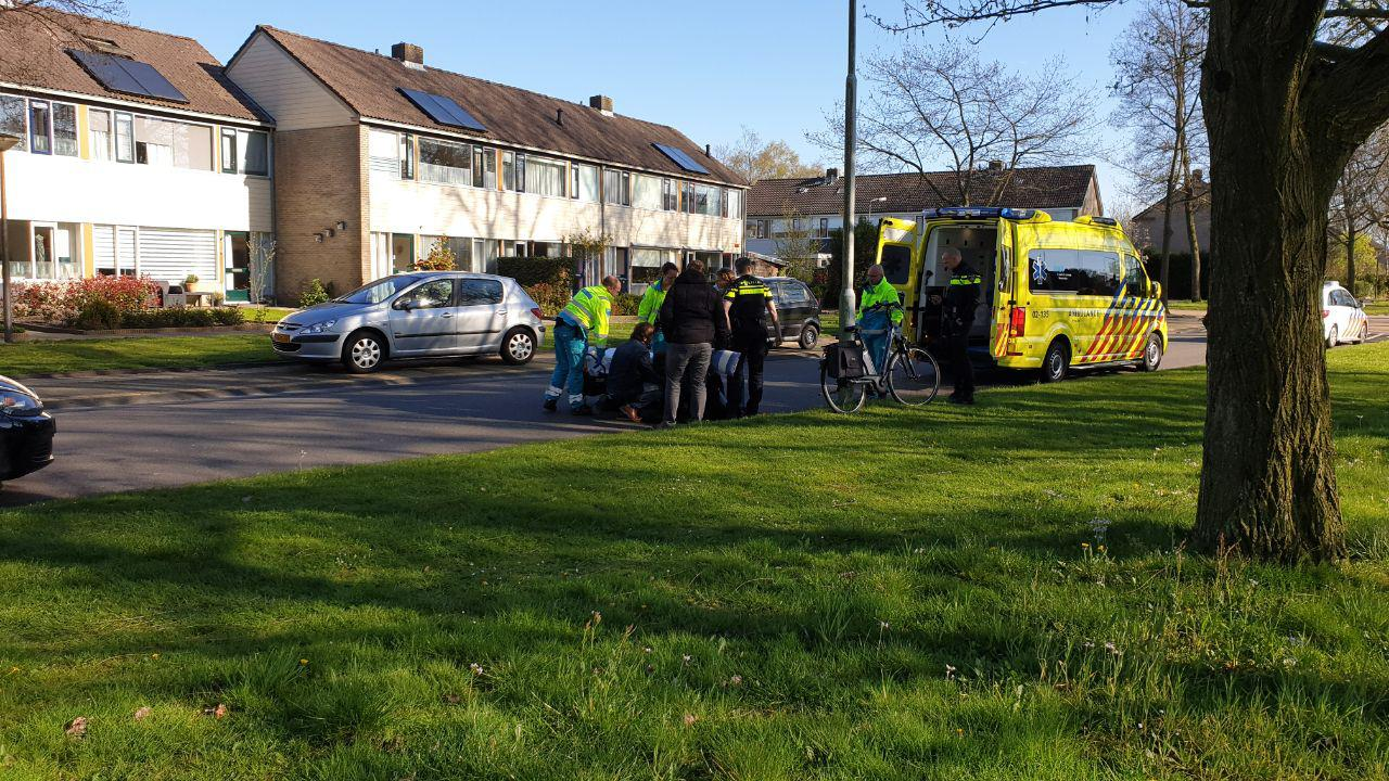 Vrouw raakte gewond na val met fiets in Drachten