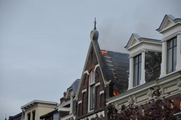 Uitslaande dak Brand in Leeuwarden