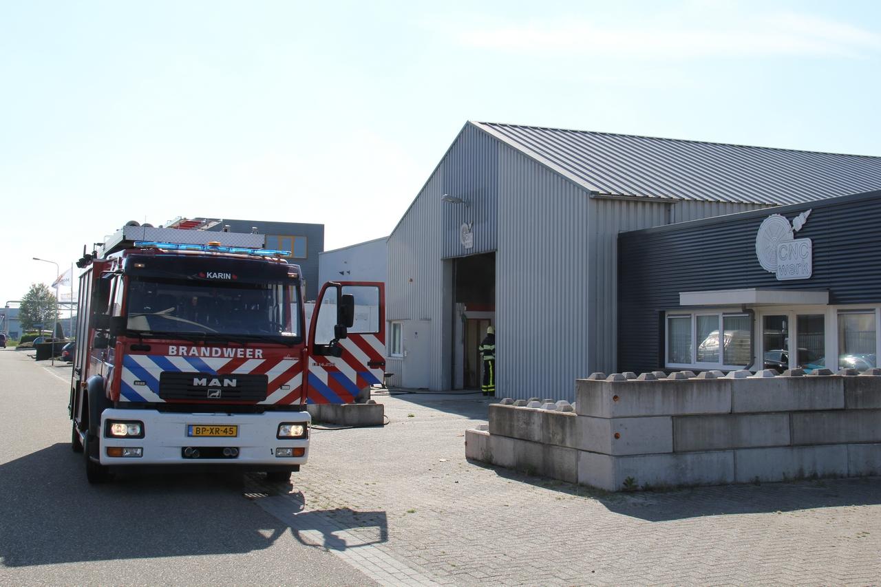 Korte Brand gewoed bij een Bedrijfspand in Heerenveen