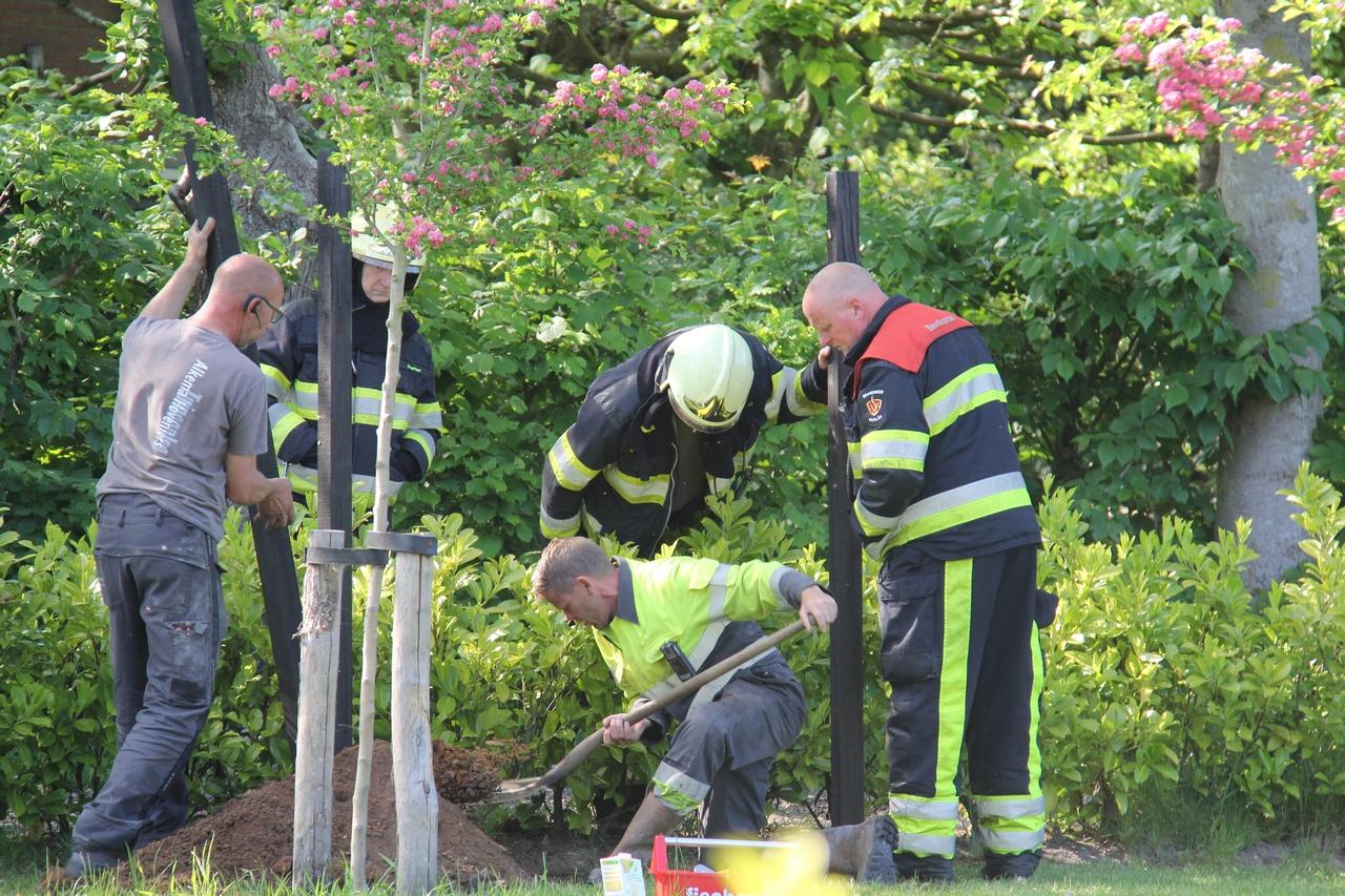 Brandweer in actie voor kleine gaslek in Opeinde
