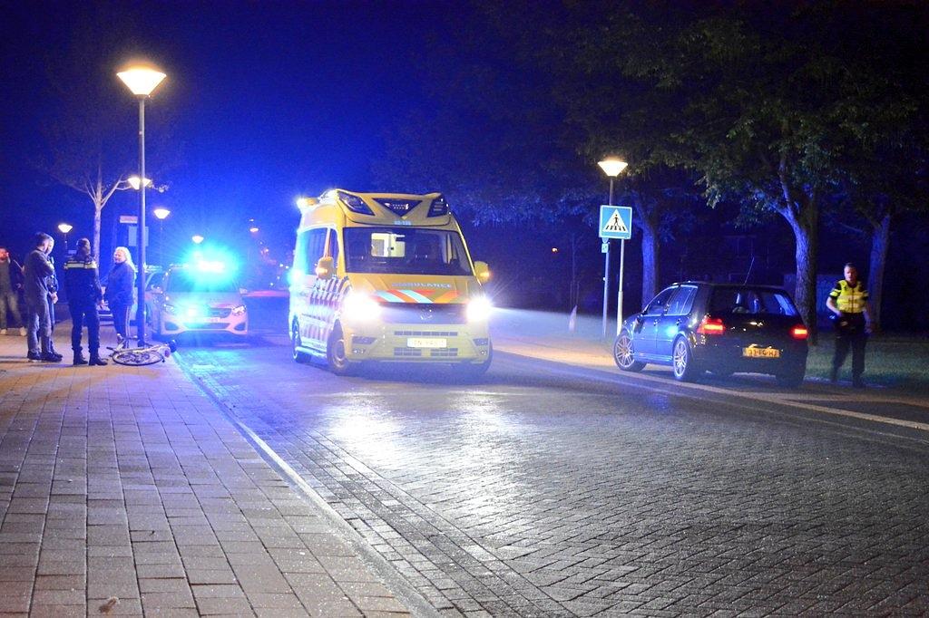 Beschonken fietser wordt geschept door Automobilisten in Drachten