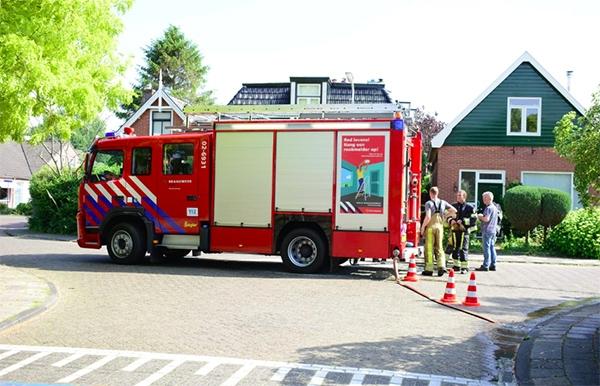 werkzaamheden oorzaak dakbrand in Beetsterzwaag