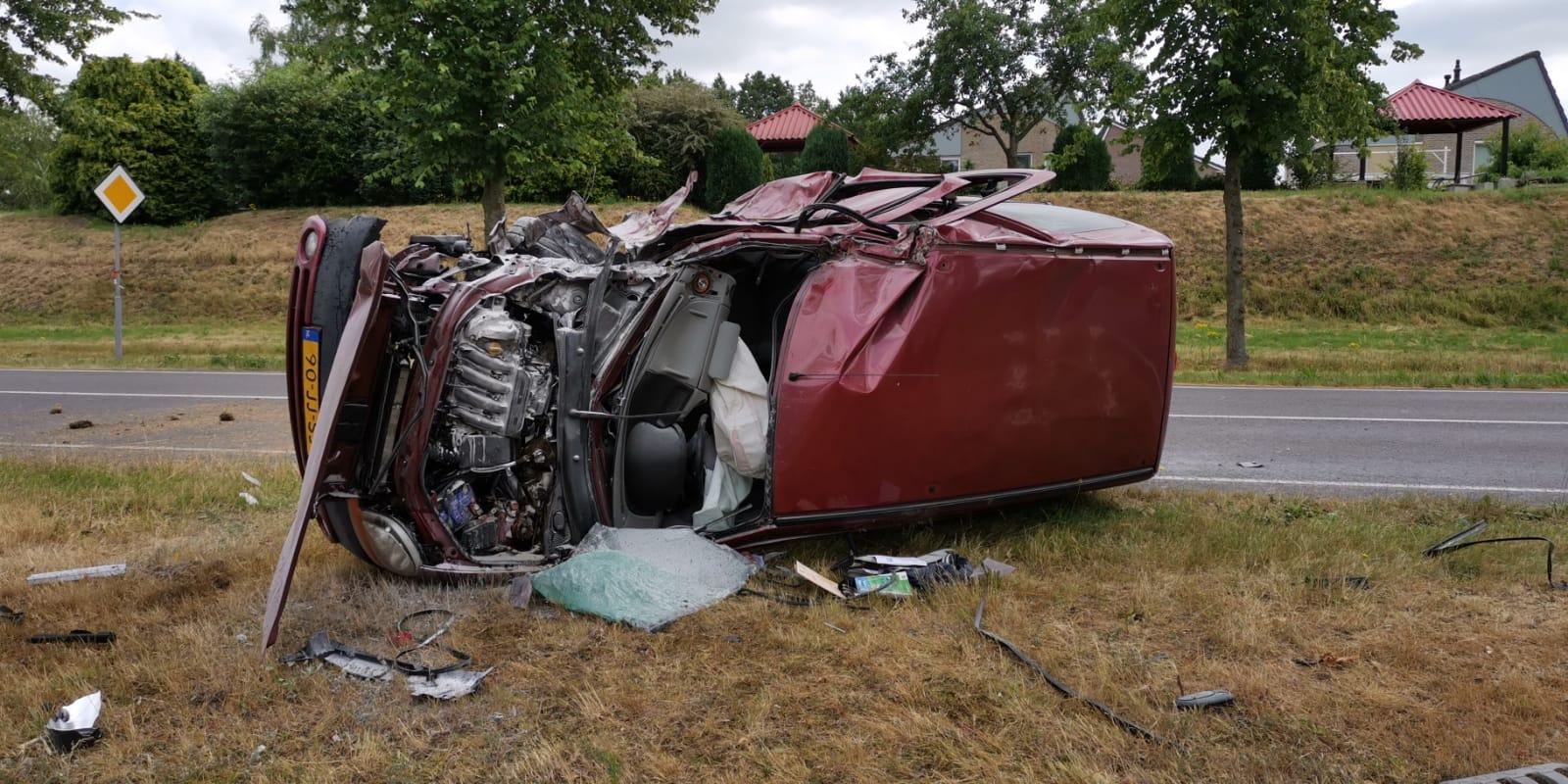 Bestuurder raakt gewond bij eenzijdig ongeval in Assen
