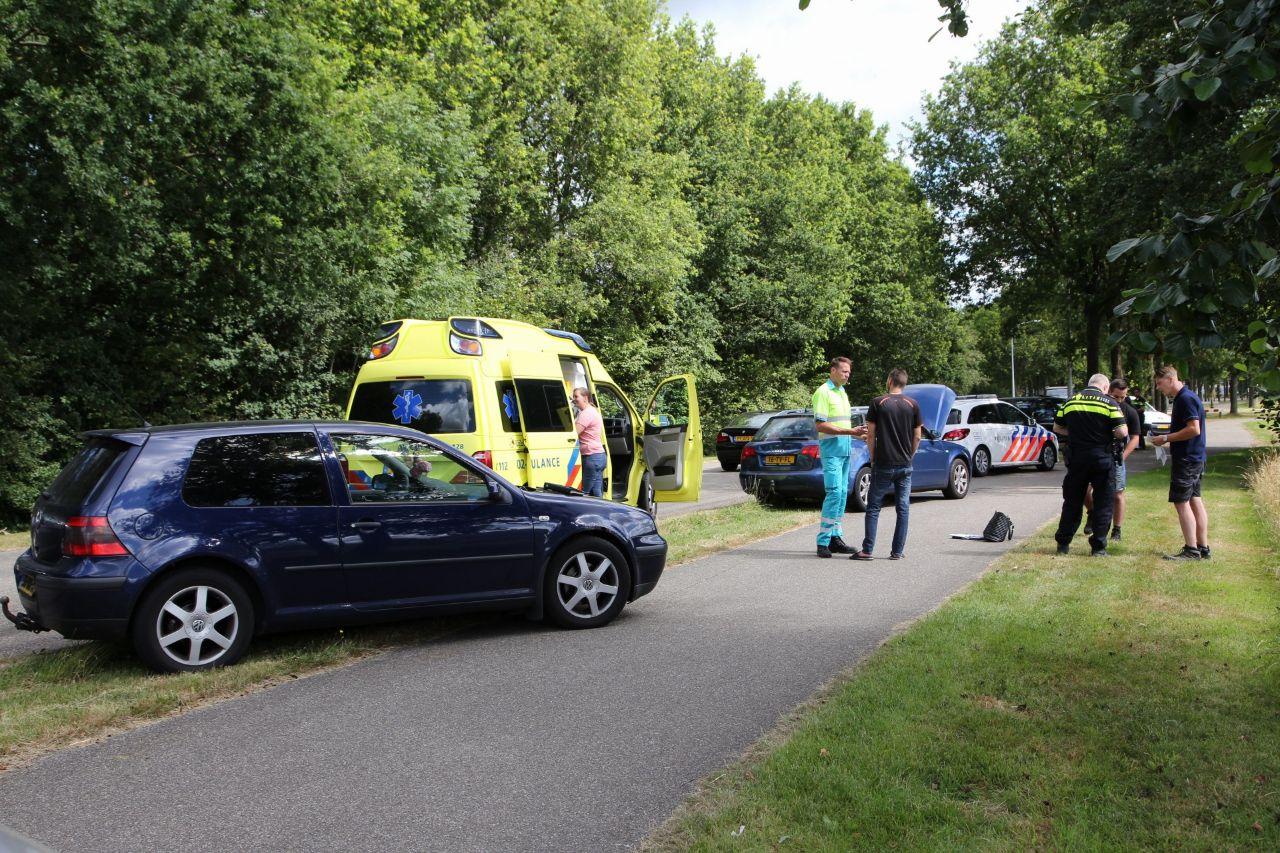 3 voertuigen met elkaar in botsing in Gorredijk