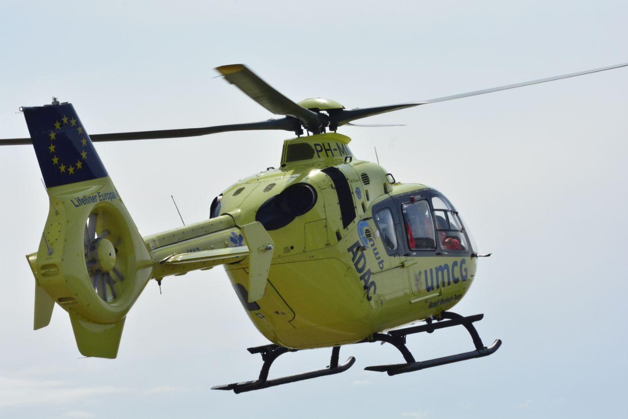 Twee gewonden bij ernstig ongeluk op de A7 kortehemmen