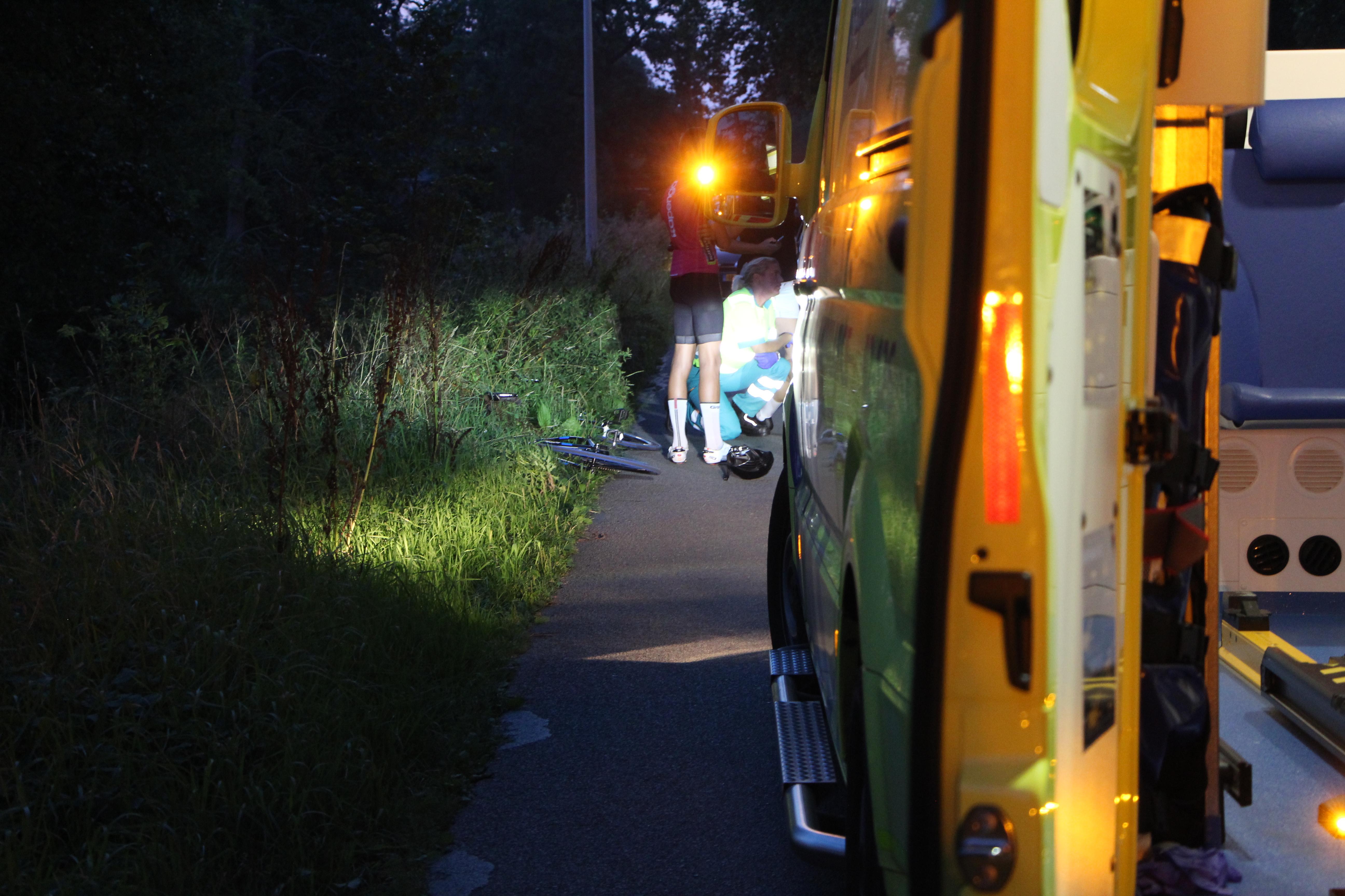 Fietsers botsen bij Drachstercopanie een gewonde