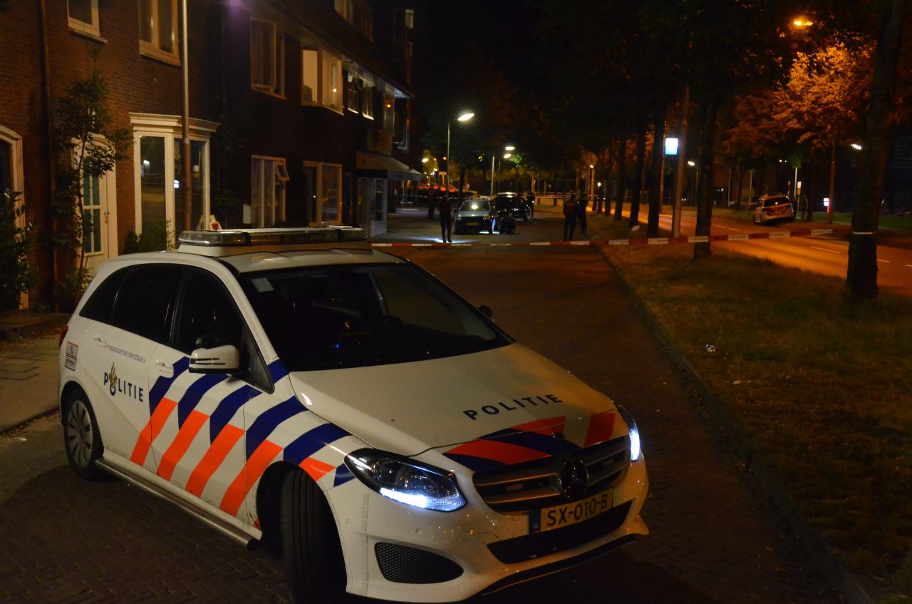 Politie lost waarschuwingsschot voor 47 jarige man uit Leeuwarden
