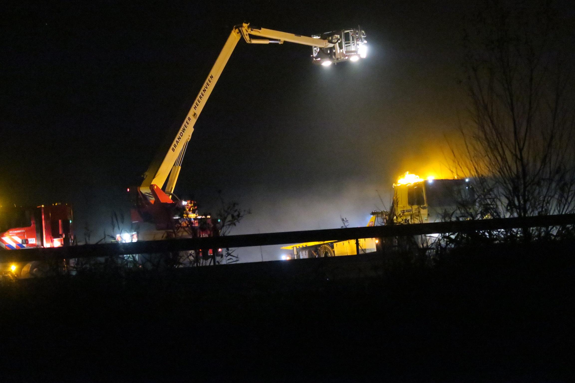 Bestuurder raakt Ernstig gewond na eenzijdig ongeval op de A7 Bij Beetsterzwaag