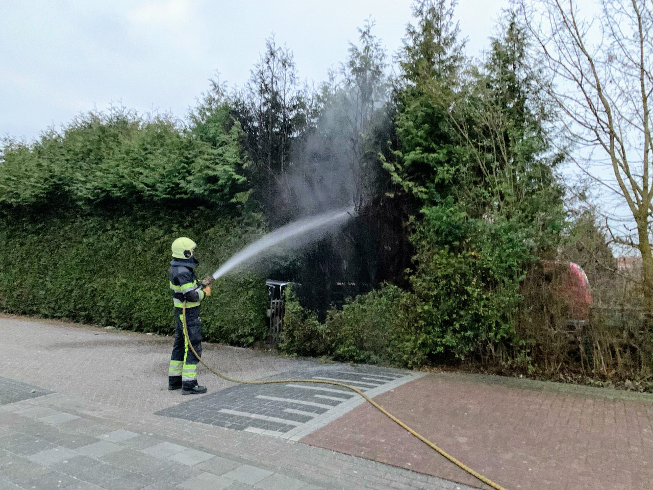 Wederom brandstichting in De Wiken in Drachten
