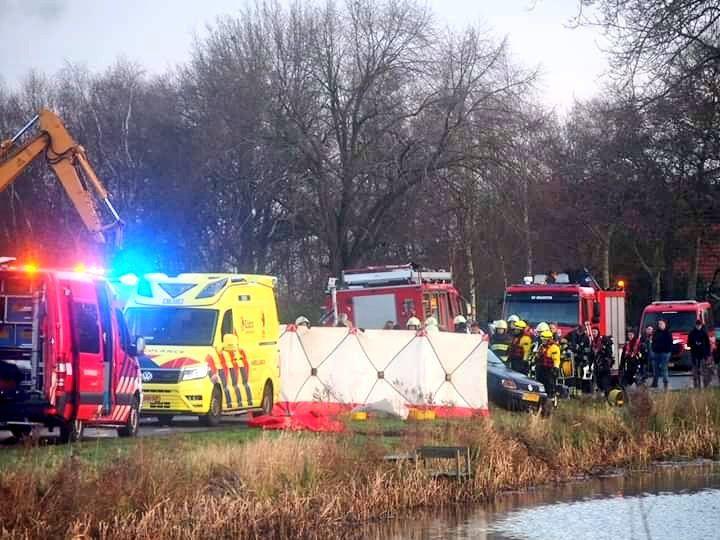 Auto te water in Bontebok bestuurder van 24 uit Heerenveen omgekomen