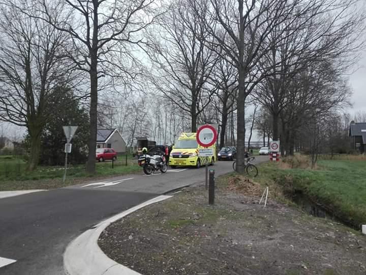 Racefietser gewond na val met eigen fiets in Gorredijk