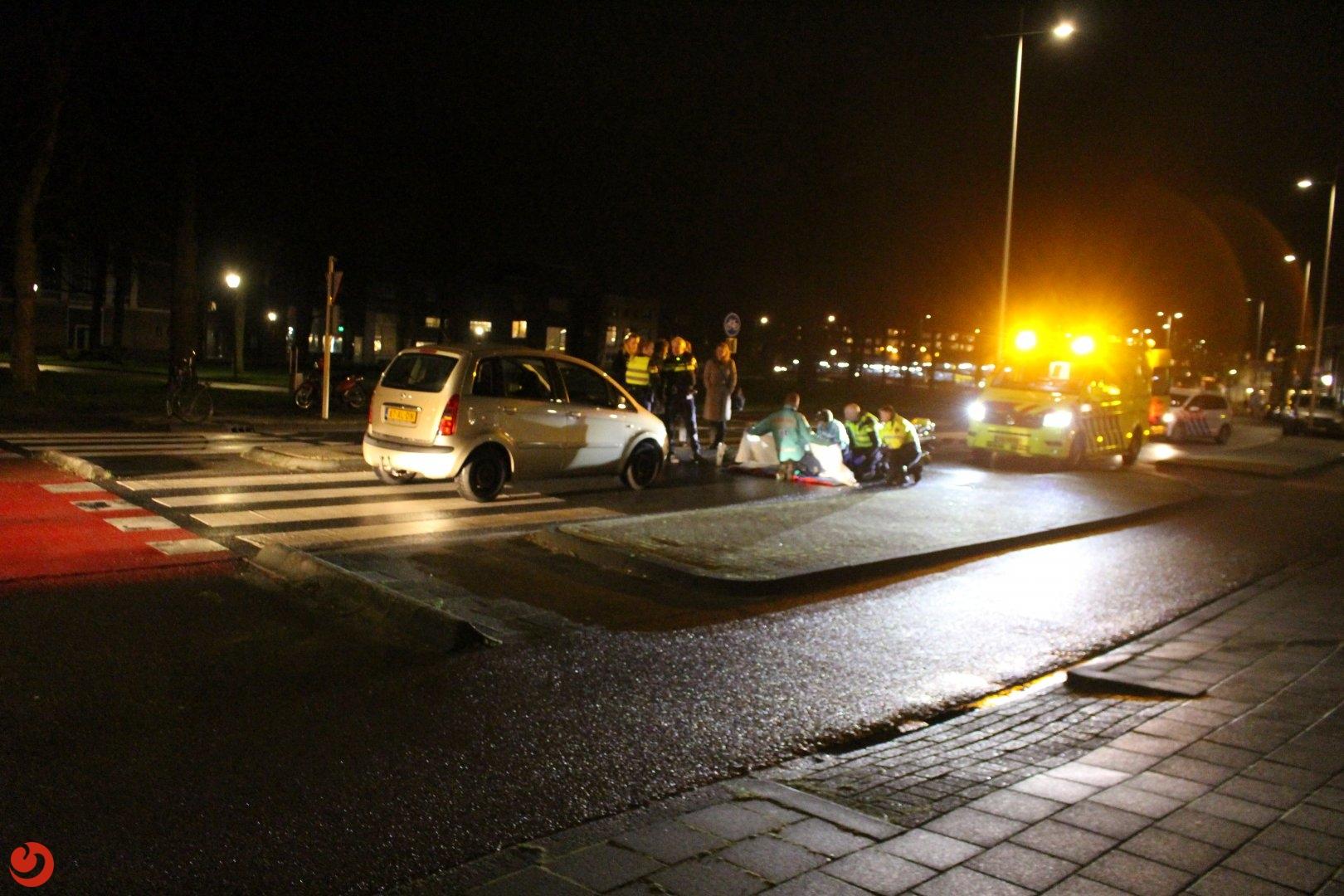 Vrouw geschept op het zebrapad door Automobilist in Leeuwarden