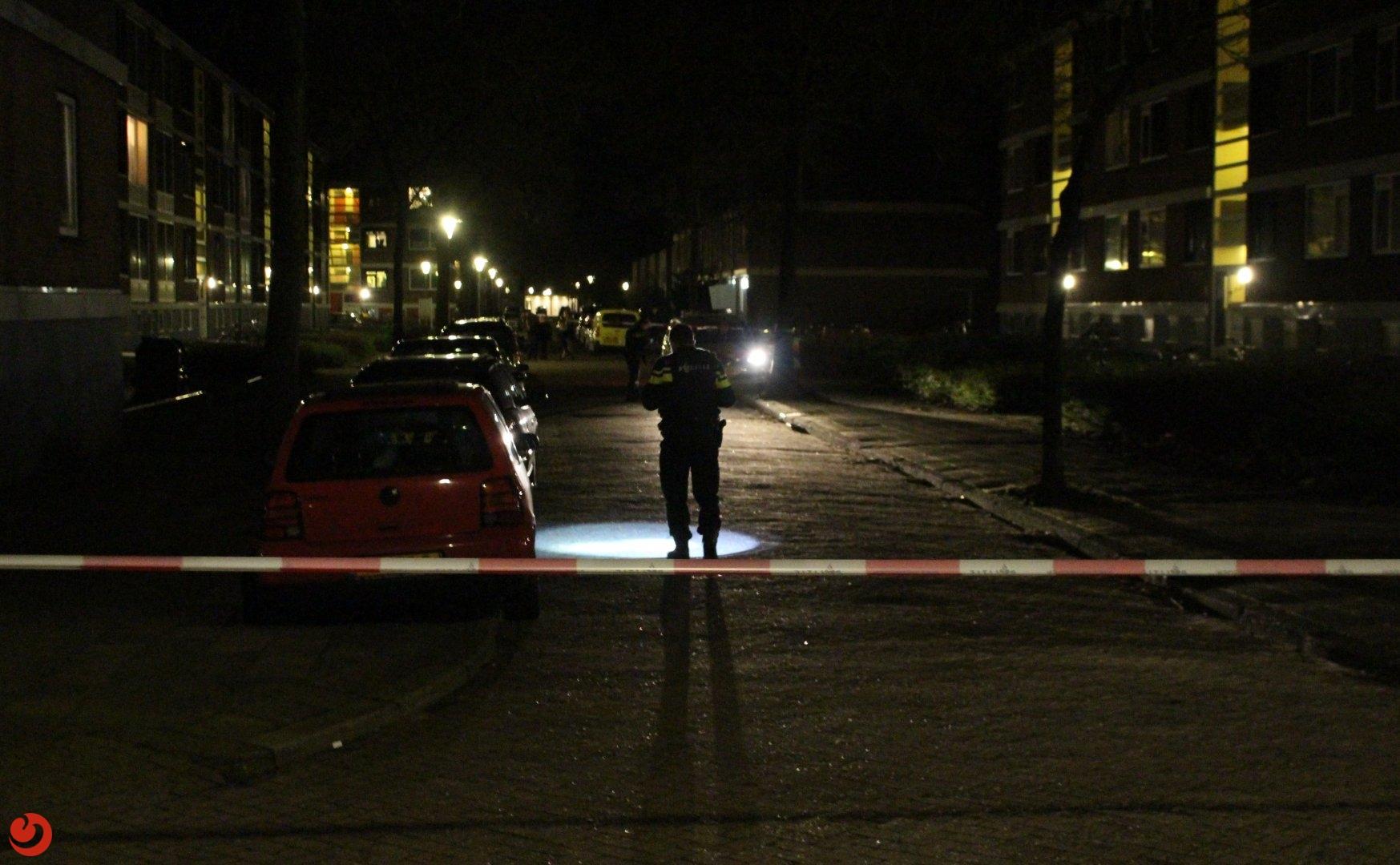 Schoten gelost vanuit auto in Leeuwarden