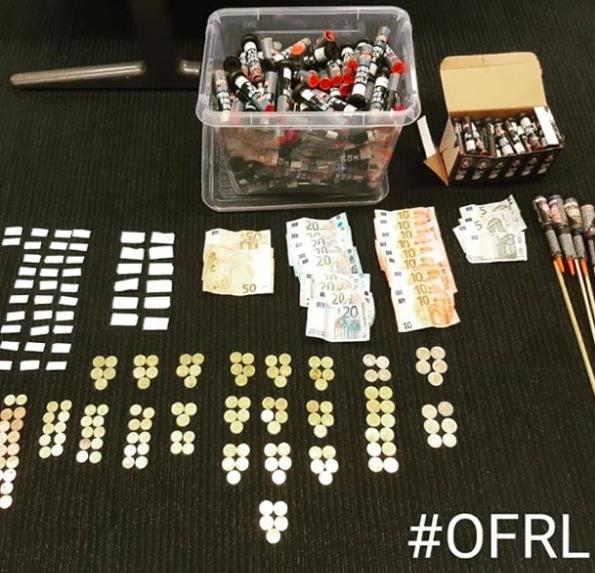 politie pakt Drugsdealer op in Drachten