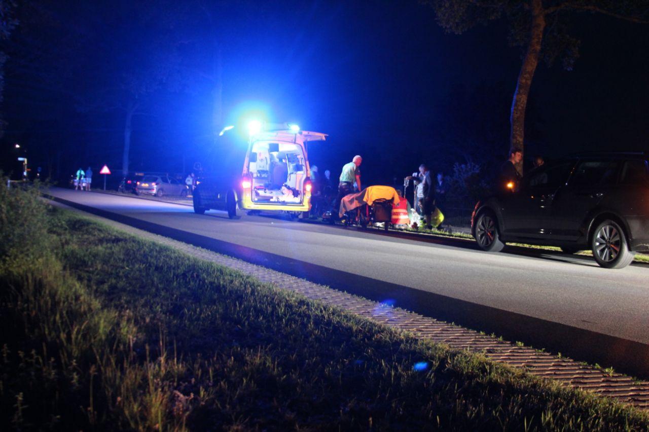Video Snorfietser raakt zwaargewond na eenzijdig ongeval bij Ureterp