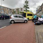 Scooterijder raakt gewond na botsing met Auto in Leeuwarden