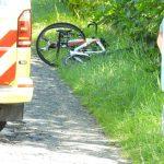 traumahelikopter inzet na vervallen wielrenner bij Stiens