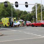 Scootmobielrijder gewond na botsing met Auto op de Dammelaan in Leeuwarden