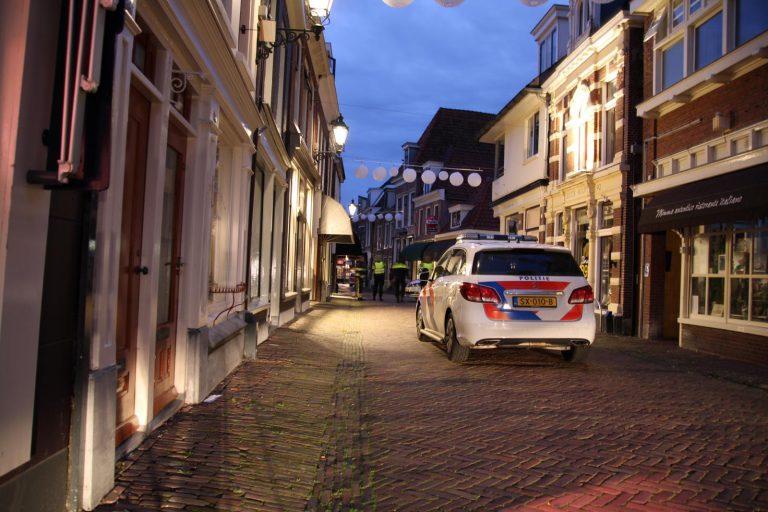 40 jarige inbreker op heterdaad betrapt aan de kleine kerkstraat in Leeuwarden