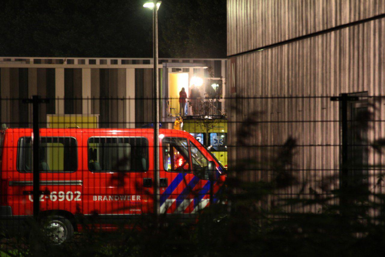 Woning vol rook na keuken brand bij Asielzoekerscentrum bij Drachten