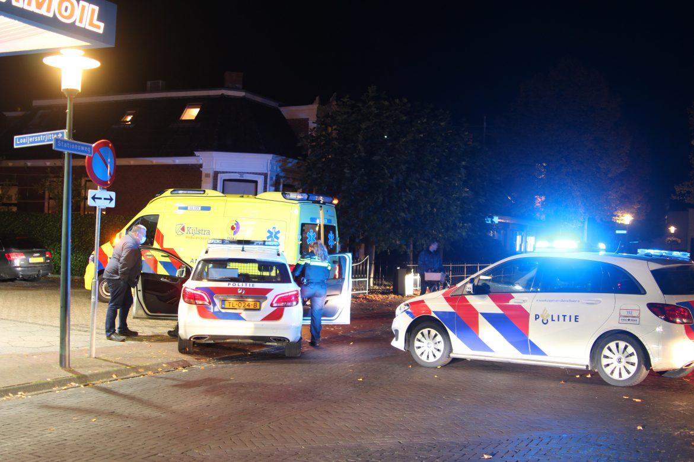 Traumahelikopter opgeroepen voor gevallen fietser aan de Hooftstraat in gorredijk
