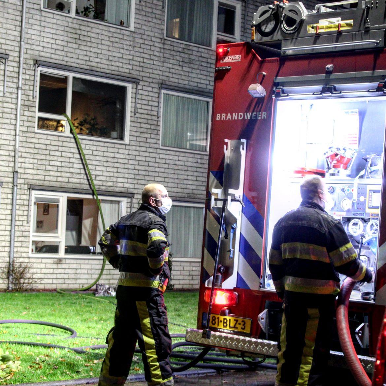 Video Brandschade na keukenbrand In woonzorgcentrum 't Suyderhuys aan de Zonneweide in Surhuisterveen