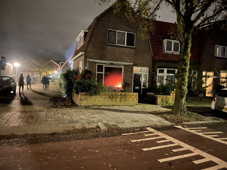 Brandweer inzet na flinke Woningbrand op de benedenverdieping in Leeuwarden