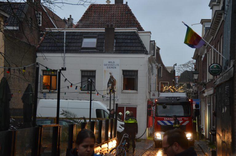 Bewoner gewond na vergeten pannetje in de klokstraat in Leeuwarden