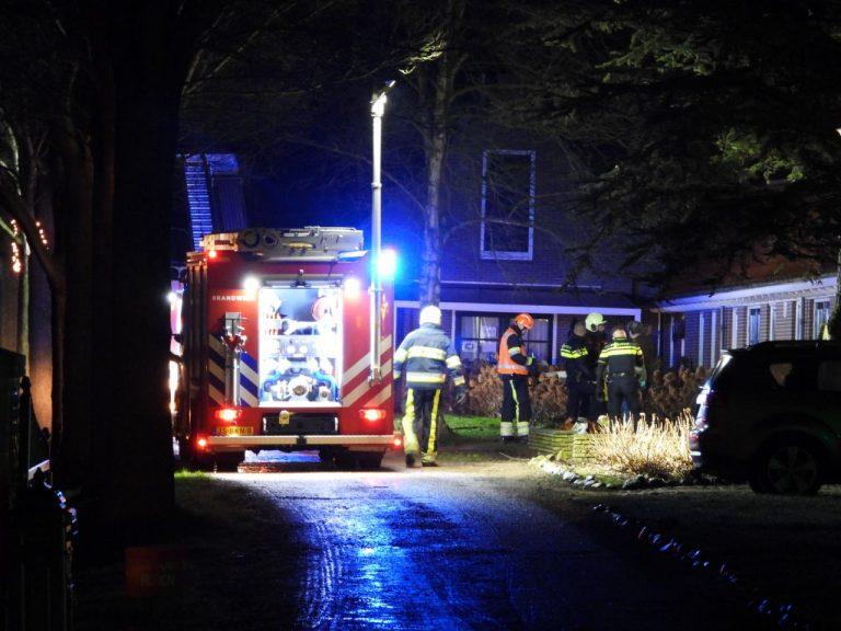 Drie personen gewond na brand in zorgcentrum in Dronrijp