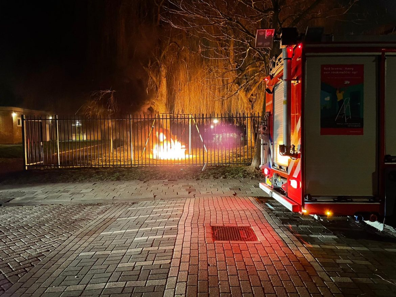 schommelnest verwoest door felle brand Leeuwarden