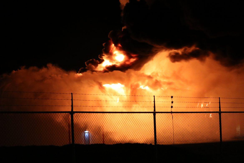 Zeer grote brand in een Snoepfabriek in Drachten
