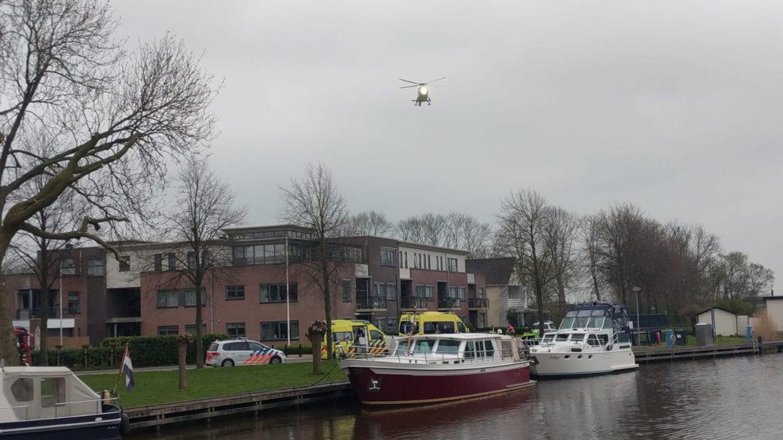 Twee opvarenden overleden door mogelijk koolmonoxide op een Schip in Bolsward