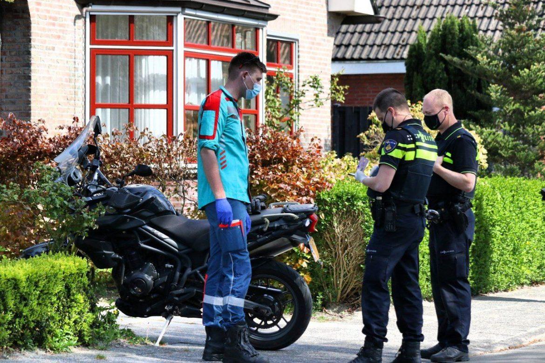 Motorrijder gewond na ongeval in Drachtstercompagnie