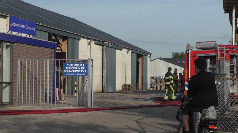 Brandweerkorpsen voorkomen erger bij Dakbrand in Oosterwolde