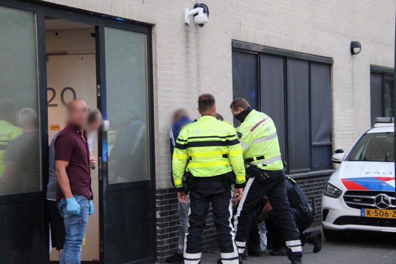 mogelijke Brandstichter aangehouden bij daklozenopvang in Leeuwarden