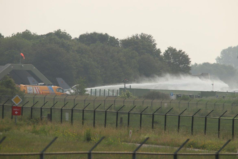 Belgische F-16 crasht op Vliegbasis Leeuwarden